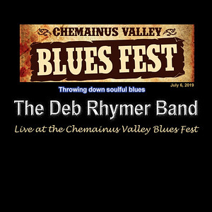 Deb Rhymer Band play the Chemainus Blues Fest
