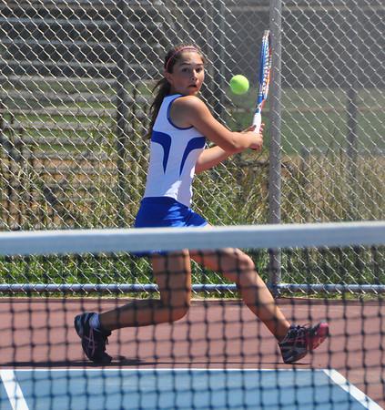 Western girls tennis blasts EVHS 2013