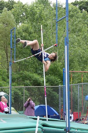 Girl's Pole Vault - 2012 MHSAA LP D3 T&F