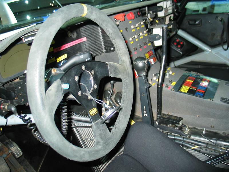 Volkswagen Dakar Touareg (interior)