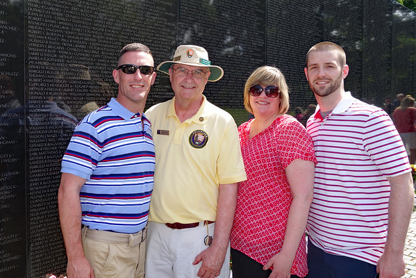 Father's Day at The Wall - 2016