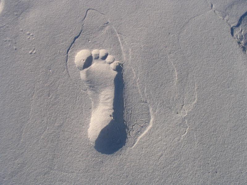 reverse footprint