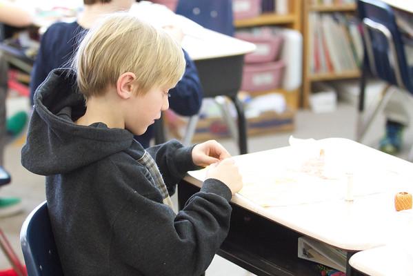 3rd Grade Quilt Making