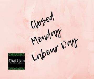 Thai Siam - May 2018