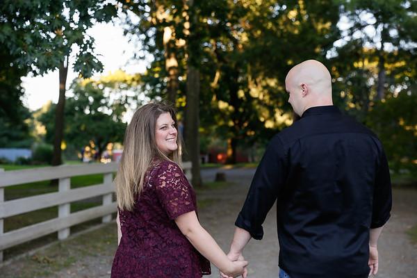 Amanda & Rick's Endicott Park Engagement Session