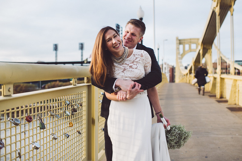 Pittsburgh Elopement Photographer - Monaco Bridge Downtown - Hadley-265.jpg