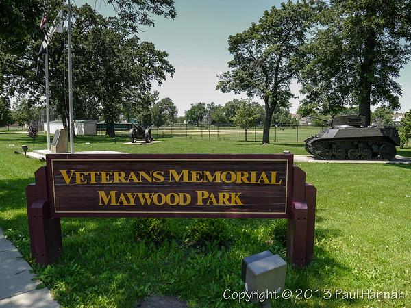 Veterans Park - Maywood, IL - M5 & Arty