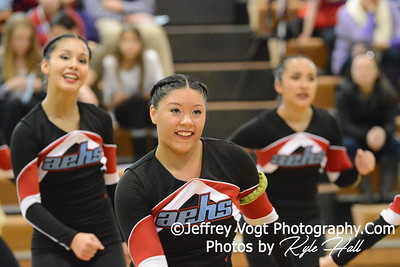 1-30-2016 Einstein HS Varsity Poms at Damascus HS, Photos by Jeffrey Vogt Photography with Kyle Hall