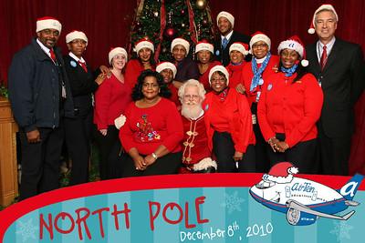 Air Tran's Holiday Photos with Santa