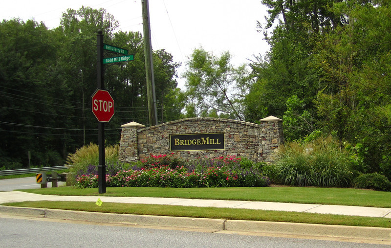 Bridgemill Canton GA Neighborhood Of Homes 045.JPG