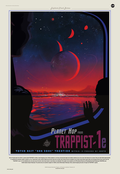 JPL Travel poster
