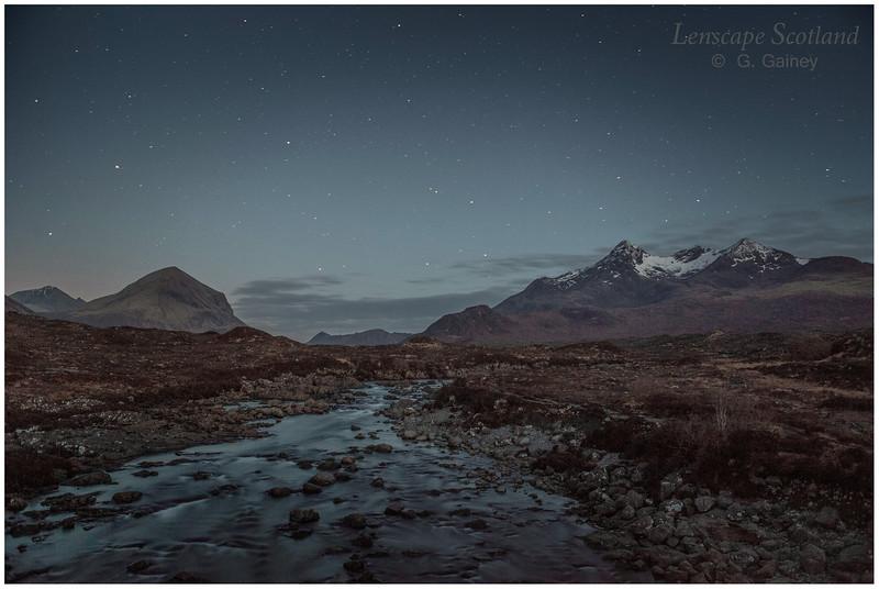 Marsco and Sgurr nan Gillean, Glen Sligachan, Isle of Skye