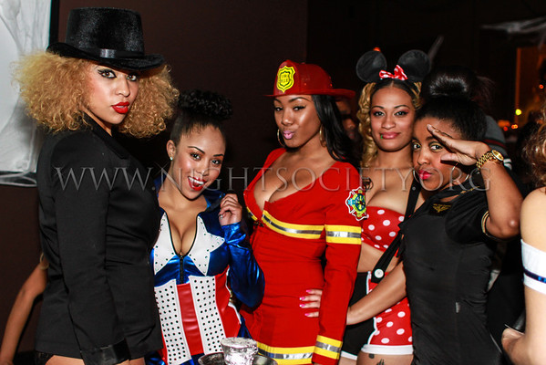 Eye Candy #ItsJustDifferent Halloween Edition at SoHo 10-25-2013