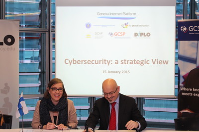 Cybersecurity: a Strategic View - Geneva Cybersecurity Days, Jan 2015