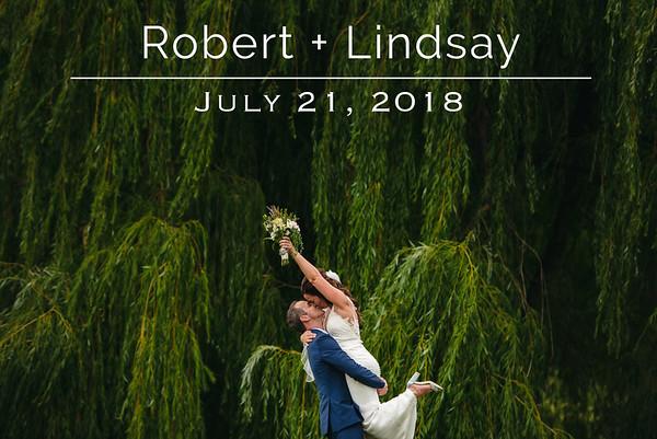 Robert & Lindsay