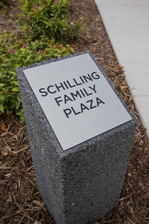 Schilling Family Plaza Dedication