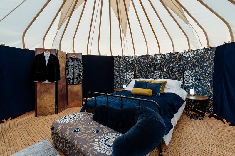 Honeymoon package in 16ft yurt