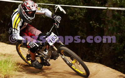 2010 Gravity Canterbury DH MTB Race 1
