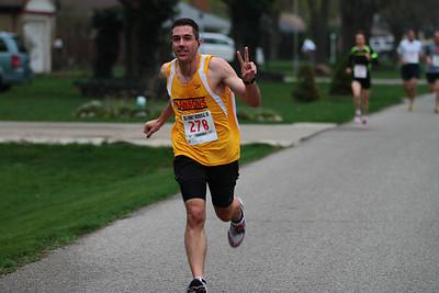 2 Mile Mark - 2012 Bill Roney 5K