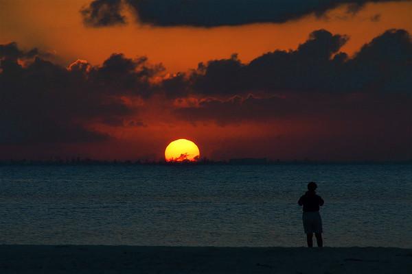 Sunrise,Sunset