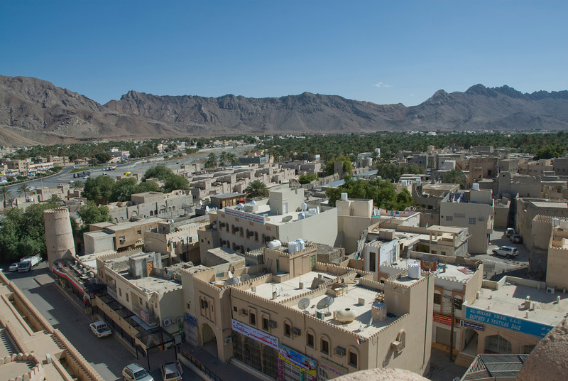 Nizwa Seen from Fort - Nizwa, Oman