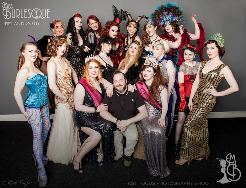 Miss Burlesque Ireland 2016 Promo Shoot