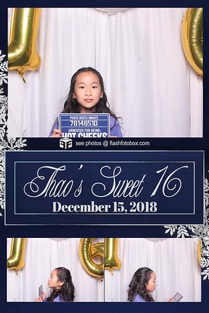 Thao's Sweet 16 - December 15, 2018