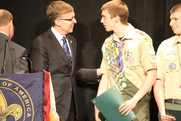 Eagle Scholarship May 1 2014
