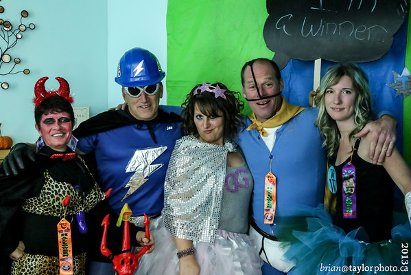 Hunter's Halloween Party 2013