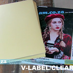 SKU: V-LABEL/CLEAR/A4L, ECOLine Laser-A4 100 Sheets Waterproof Adhesive Paper (Transparent A4)