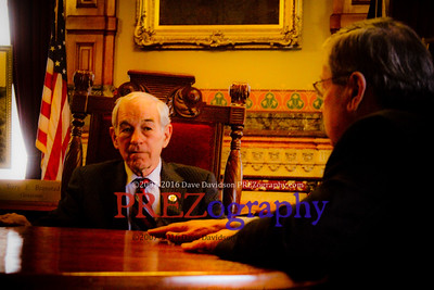 Ron Paul Meets with Governor Branstad
