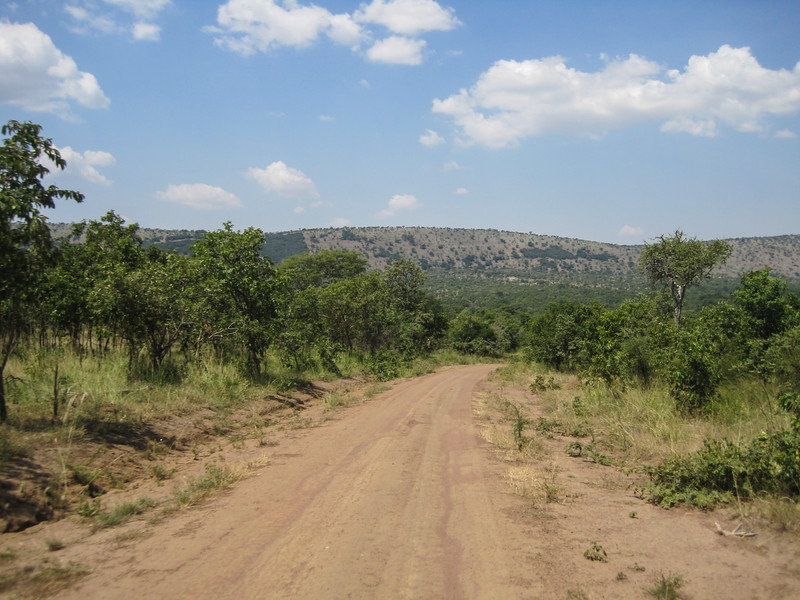 Heading to the north of Akagera NP