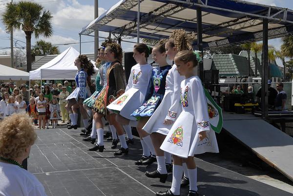 Megomalleys Irish Dancers Sat Parade 2010