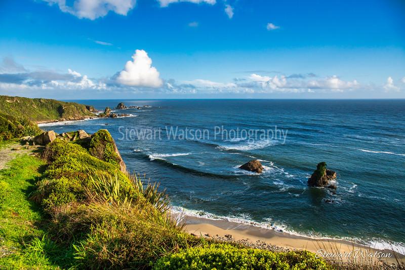 Cape Foulwind coastal lighthouse walk 06