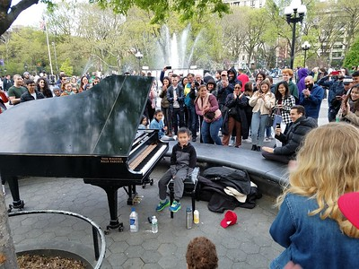 Sam Bohemian Rhapsody Washington Square Park 042119
