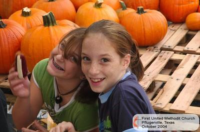 Pumpkin Patch October '04