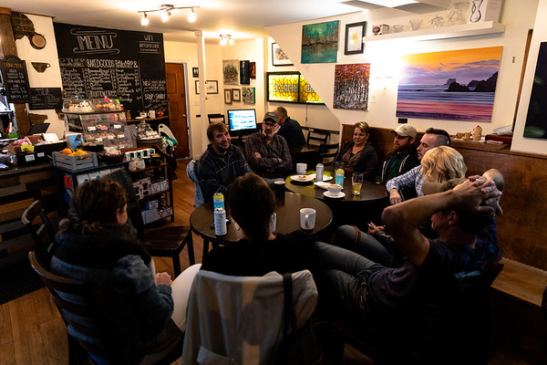 Follow-up Meeting at the Signal Hill Cafe
