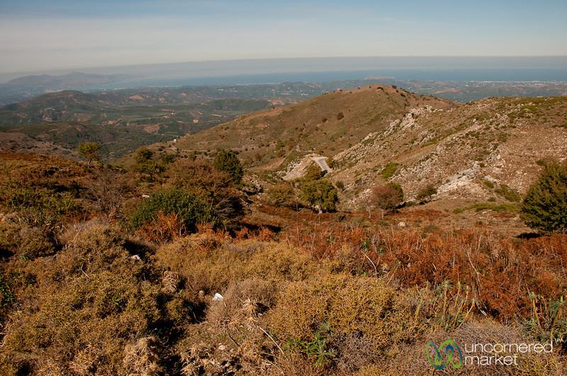 Cretan Landscapes on Way to Samaria Gorge