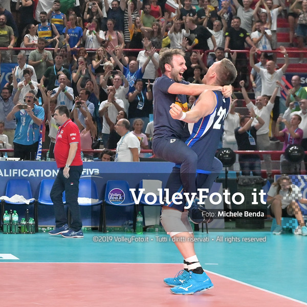 ITALIA vs SERBIA, 2019 FIVB Intercontinental Olympic Qualification Tournament - Men's Pool C IT, 11 agosto 2019. Foto: Michele Benda per VolleyFoto.it [riferimento file: 2019-08-11/NZ6_3072]