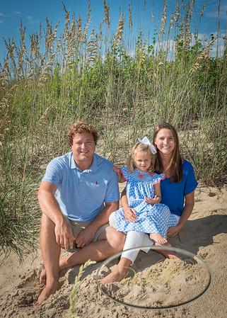 Mills Family Beach Photos