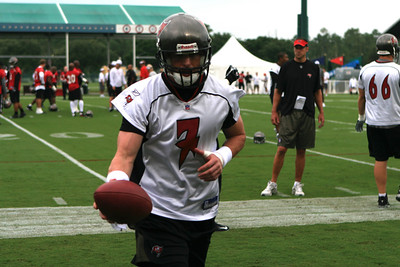 Bucs Training camp First Day July 27 2007