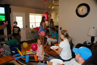Karlee's 1st Birthday Party July 27, 2014