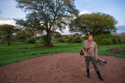 With my Family on Safari