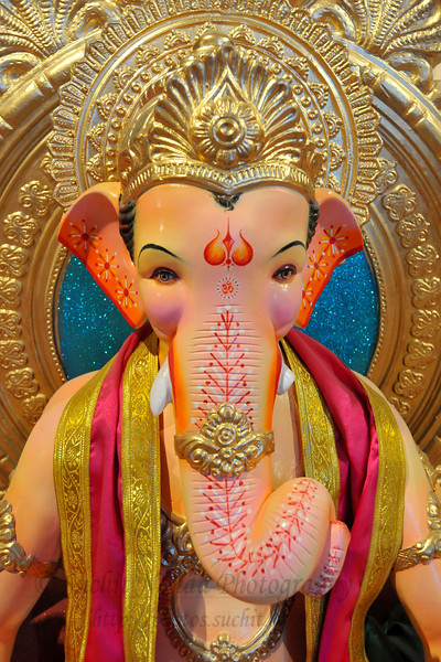 Ganesh Idol Making Aug'09