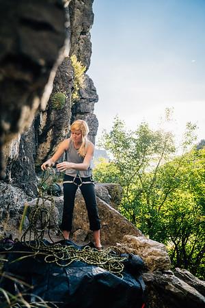 Missy Climbing Shoot