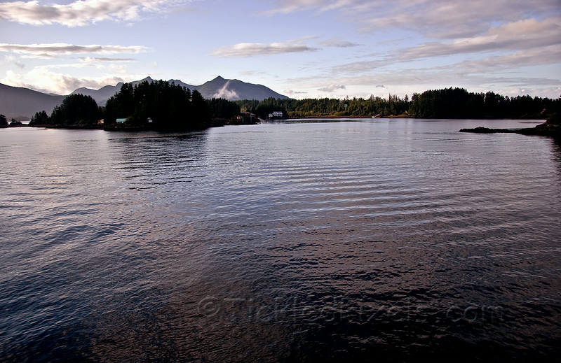 Cabins in Sitka Sound
