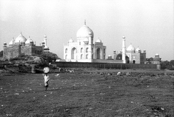 B+W Photos of travels in India