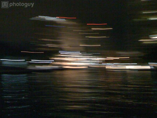 Blurred River