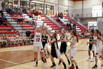 Girls Freshman Basketball - 1/4/2016 Newaygo