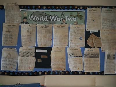 Newspaper reports - WW2
